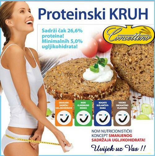 Proteinski kruh Concettino