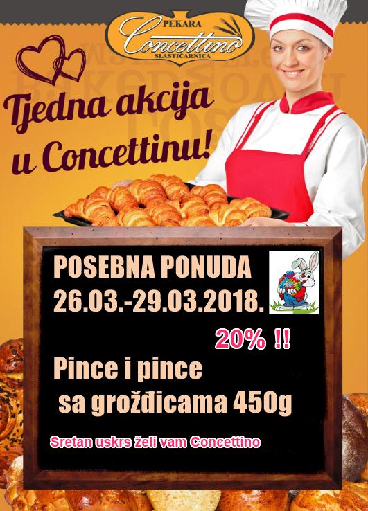 Uskrs 2018 Pince akcija
