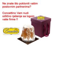 CONCETTINO REKLAMA PANETTONE